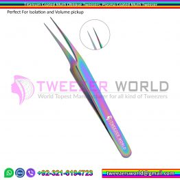 Titanium Coated Multi Straight Tweezer, Plasma Coated Multi Tweezer