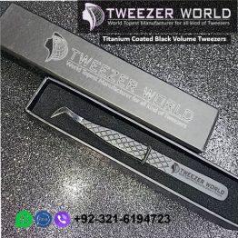 Titanium Coated Black Volume Tweezers World's Top Manufacturer